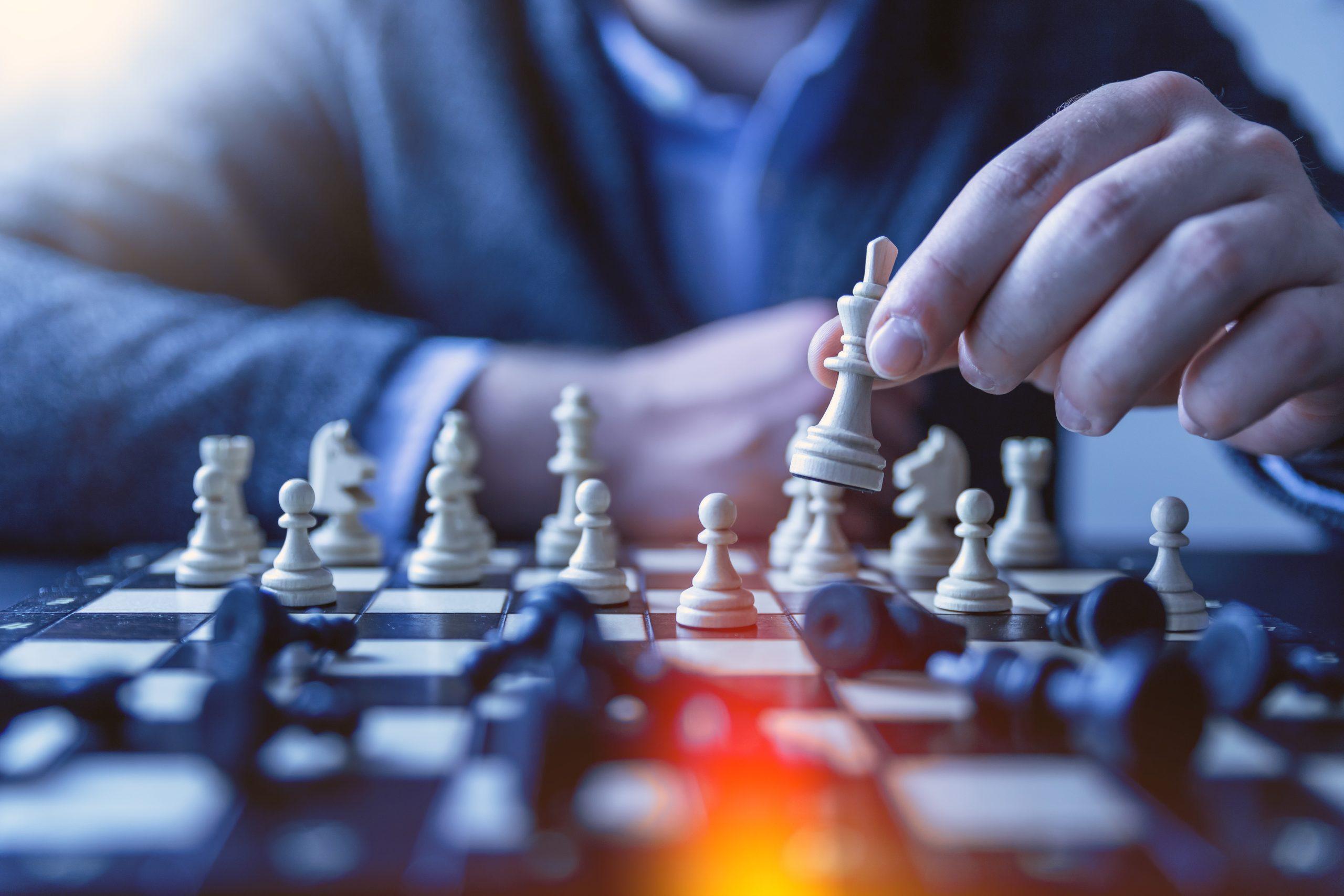 チェス、段取り、効率